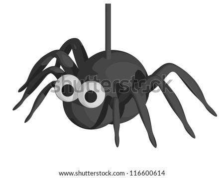Halloween Spider - stock vector