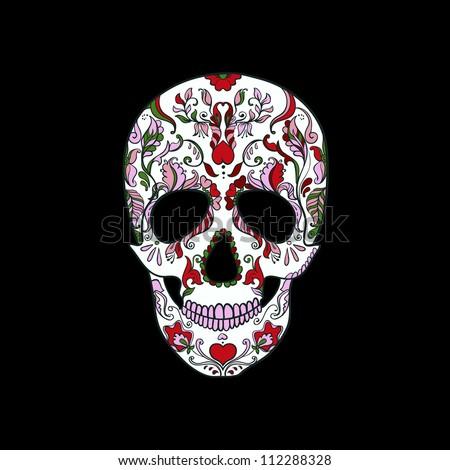 Halloween. Sugar Skull - stock vector