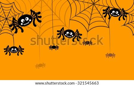 halloween vector background seamless pattern spider web halloween symbols halloween silhouette for halloween - Spider Web Halloween