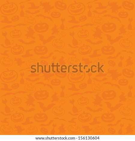 Halloween vector background with copyspace - stock vector