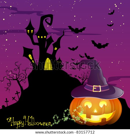 Halloween Vector Illustration - stock vector