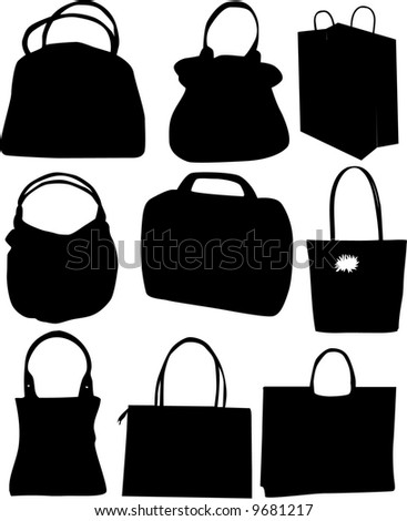 Hand-bag , vector work