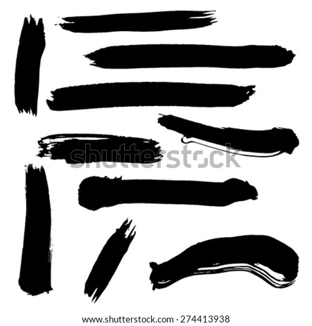 hand drawing border background - stock vector
