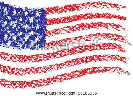 how to draw the american flag accurately