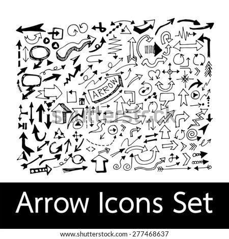 Hand Drawn Arrow Icons