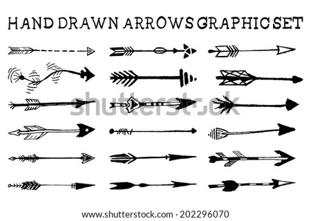 how to draw an arrowhead