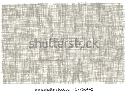 Hand-drawn background texture - stock vector