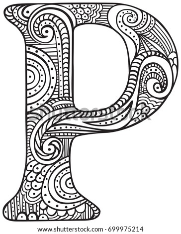 capital a coloring pages - photo#37