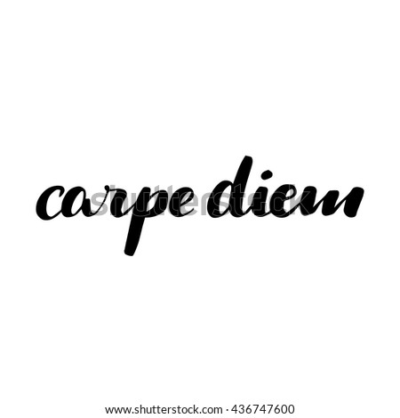 carpe diem seize the day essay A person can say or do something of the smallest nature and it can easily be called carpe diem or momento mori seize the day save your essays here so you can.