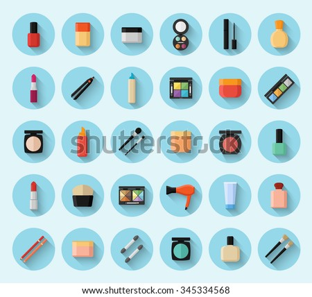 Hand drawn colorful doodle cartoon illustration set with tea objects and symbols. Tea, teapot, cups, sweets and pastry - stock vector