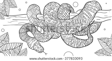Adult Snake Stock Royalty Free & Vectors
