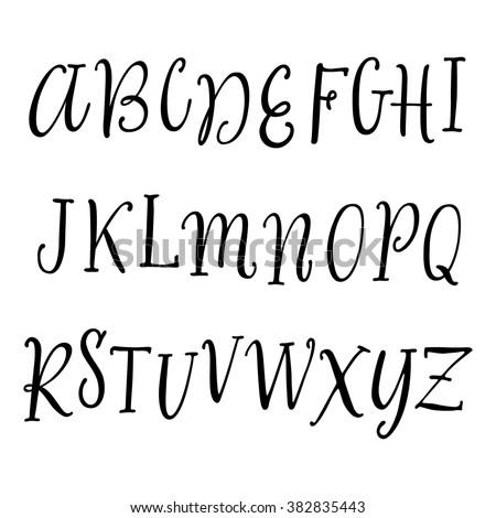 S In Bubble Letters Cute