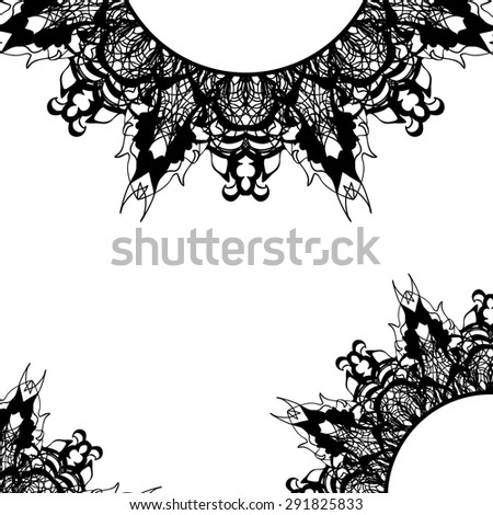 Gothic frame stock images royalty free images vectors for Gothic design elements