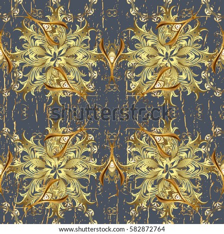 Paisleys elegant floral vector background wallpaper stock for Style retro deco