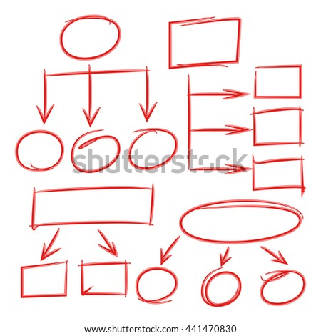 hand drawn diagram hand drawn chart stock vector 441470830 rh shutterstock com hand drawn diagrams to visio hand drawn diagrams to visio
