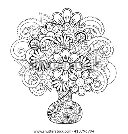 Swimsuit Fashion Template Coloring Pages