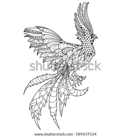 Swooping Eagle Stock Vector 56052058