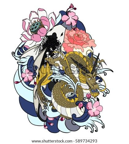 Royalty tattoo Asian