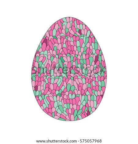 Mosaic eggs stock images royalty free images vectors for Egg mosaic design