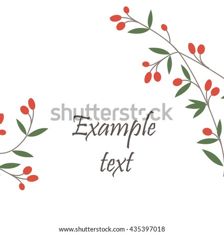 Hand drawn floral black wreath made in vector. Unique decoration for greeting card, wedding invitation, save the date. Ornamental leafy branches with space for a text. Calligraphic sketchy collection