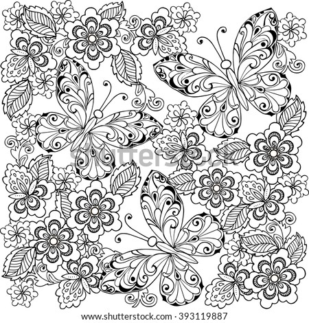 anti coloring book printable pages - photo#35