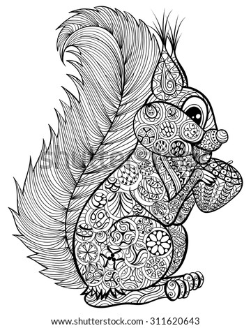 Zentangle Animal Stock Images Royalty Free Images