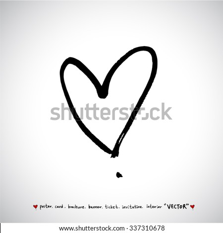 Heart Sketch Stock Photos Royalty Free Images Vectors