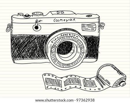 Camera Sketch Stock Images Royalty-Free Images U0026 Vectors | Shutterstock
