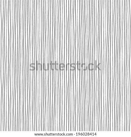 Hand drawn lines. Seamless pattern.  - stock vector