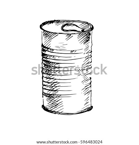 Tin can drawing