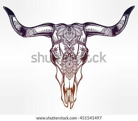 Buffalo Tattoo Stock Images, Royalty-Free Images & Vectors | Shutterstock