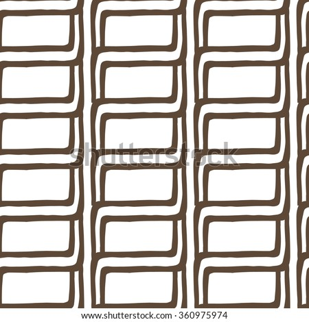 Hand drawn seamless pattern, vector. EPS 10.