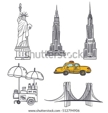 Hand Drawn Seamless Vector Pattern Symbols 512794906