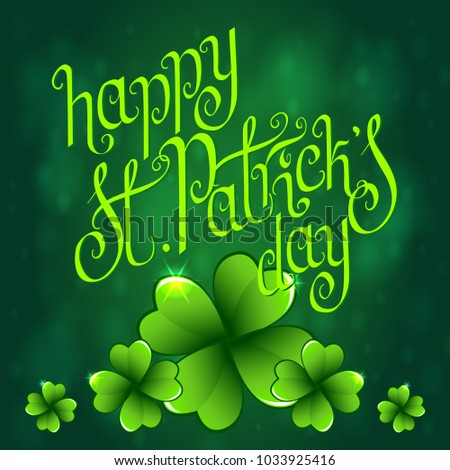 Hand drawn st patricks day greeting stock vector 1033925416 hand drawn st patricks day greeting card irish holiday festival traditional vector illustration m4hsunfo