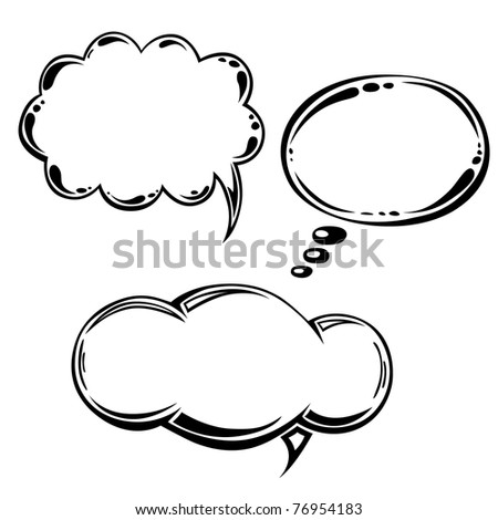Hand drawn tags collection. Vector EPS-8 - stock vector