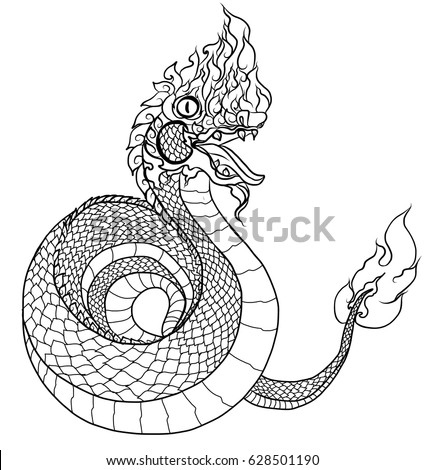 Thai tattoo stock images royalty free images vectors for The girl with the dragon tattoo common sense media
