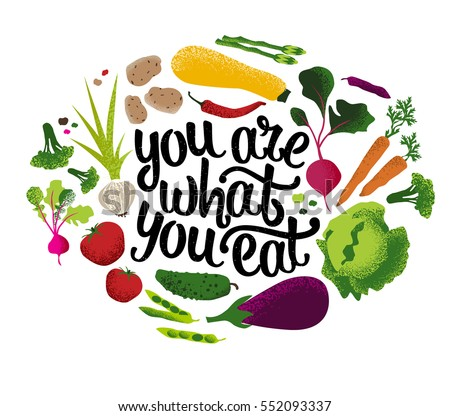 Vegetables quote for Cuisine you eat with your hands