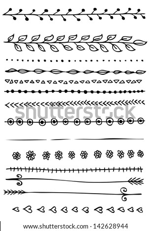 Hand Drawn Border Stock Images, Royalty-Free Images