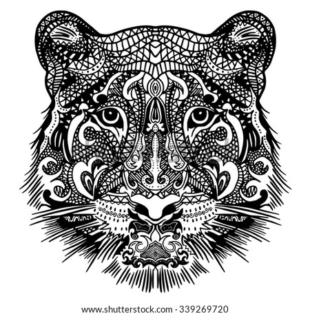 Tiger Tattoo Stock Photos Images Amp Pictures Shutterstock