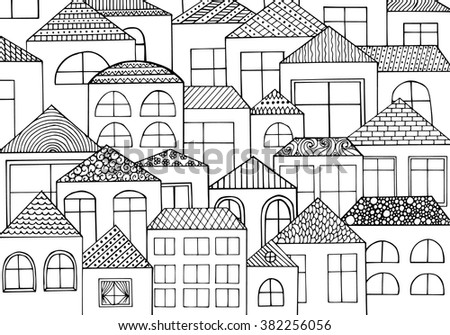 homes around the world coloring pages ideas
