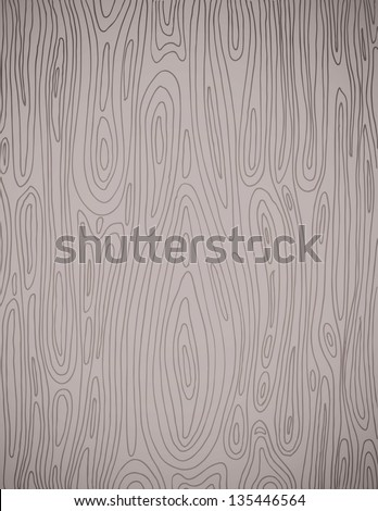 Hand drawn Wood Grain