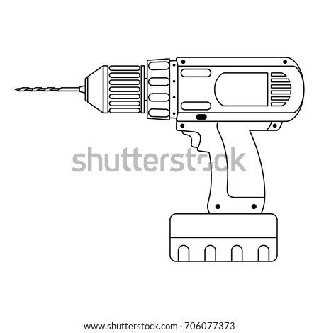 as well Power Tools Vector 553925 moreover Power Hand Saw in addition Used 32 4 Drill Press Wiring Diagram besides Search. on cordless drill machine
