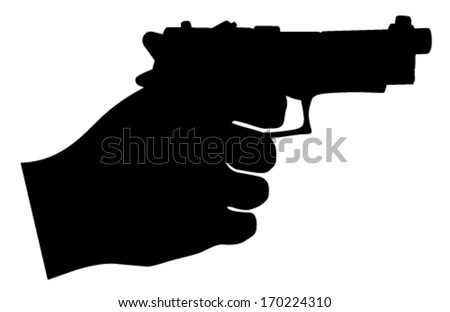 Download image Vector Hand Holding Gun PC, Android, iPhone and iPad ...