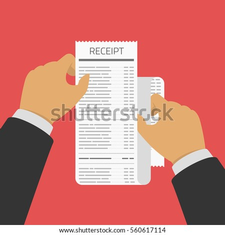 Receipt Images RoyaltyFree Images Vectors – Receipt Design