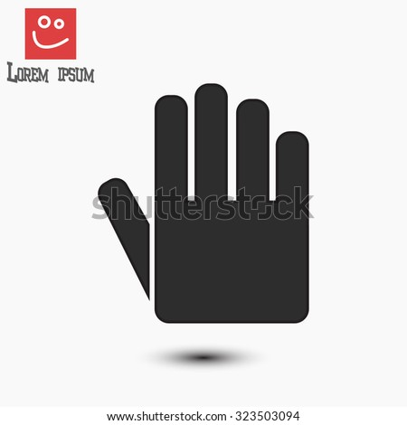 hand icon . Vector  Eps 10