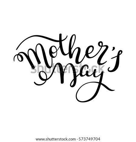 Hand lettering Mother's Day