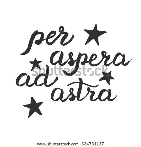 ad astra per aspera How do you say ad astra per aspera in english pronunciation of ad astra per aspera found 9 audio voices and 1 meaning for ad astra per aspera.