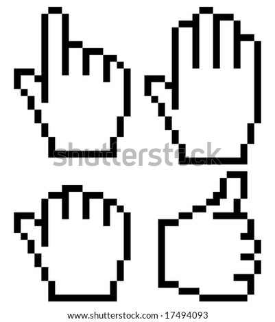 hand mouse symbol