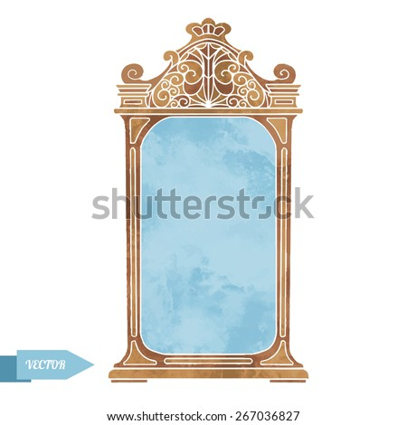 Old Mirror Stock Images Royalty Free Images Amp Vectors