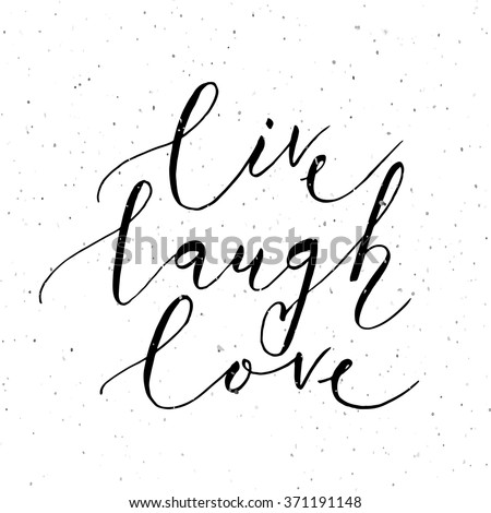 Live Laugh Love Stock Images Royalty Free Images